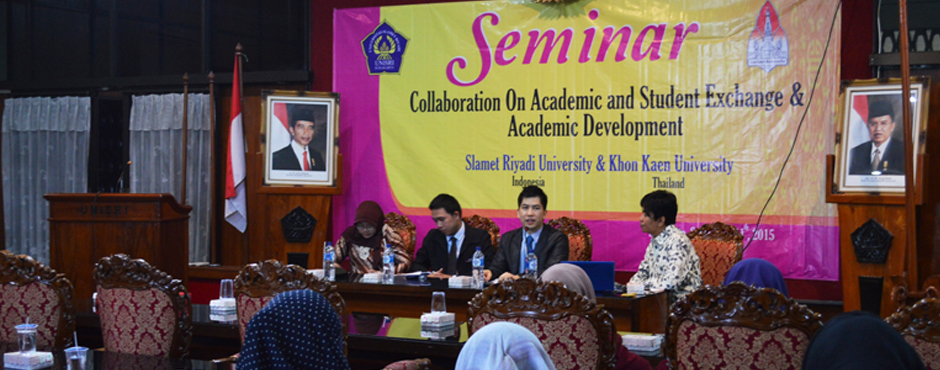 Unisri Gelar Collaboration On Academic And Student Exchange And Academic Development